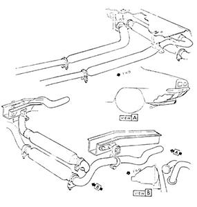 1969 Camaro Small Block Chambered Exhaust System