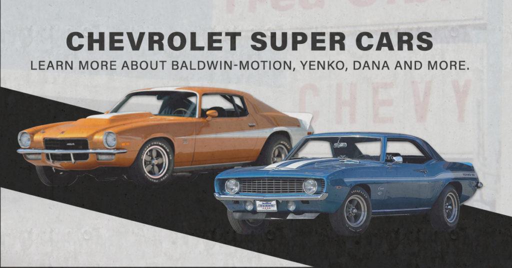 Chevrolet Super Cars