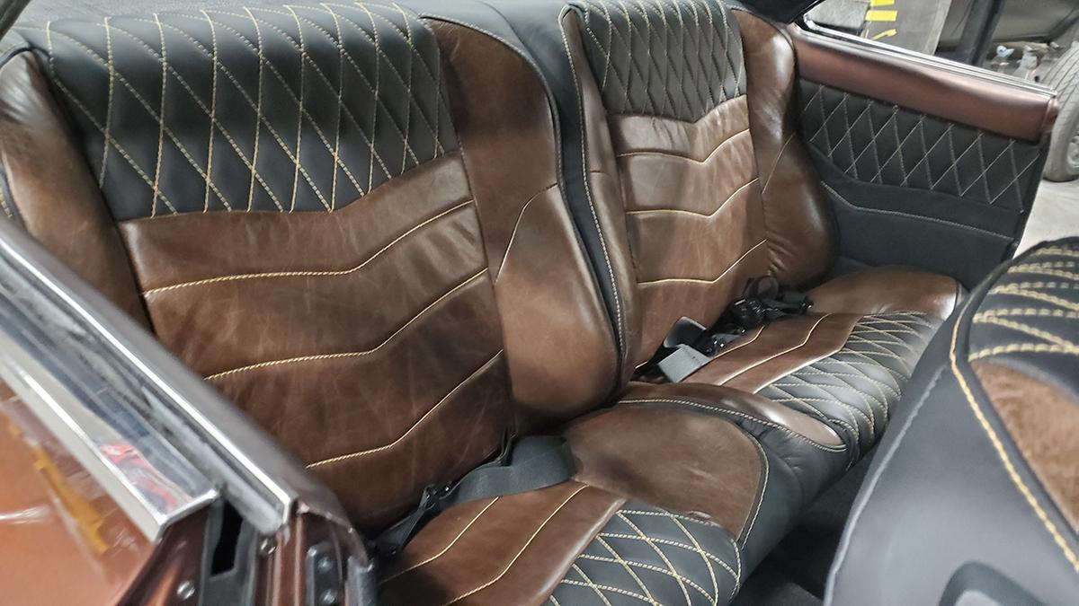 1966 Nova Rear Seats