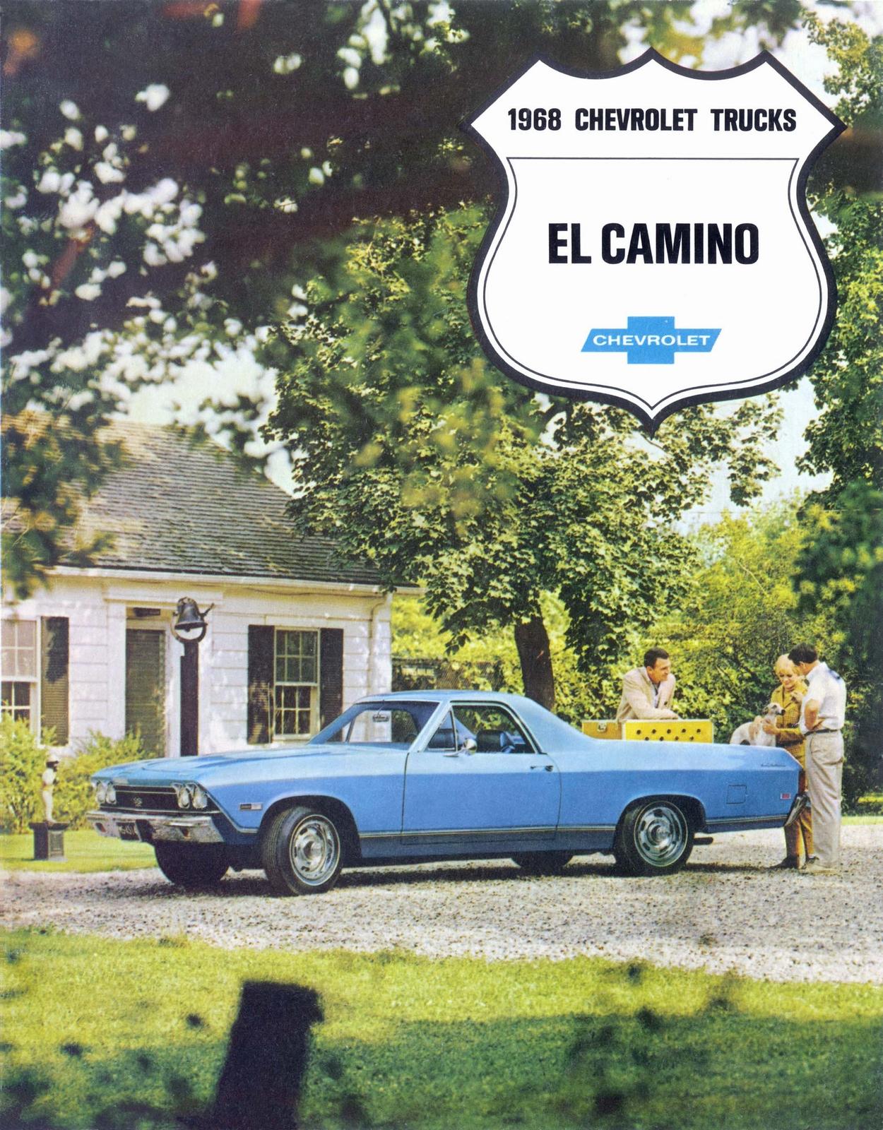 1968 El Camino Brochure Cover