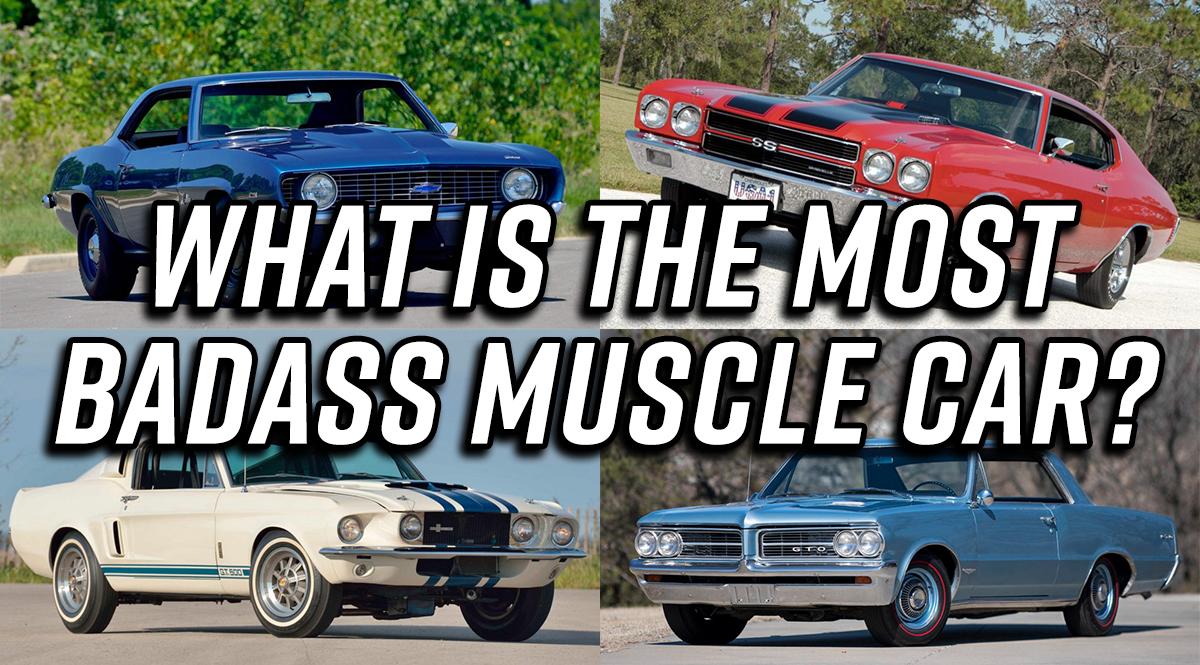 Badass Muscle Car