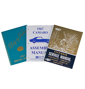 1967 camaro shop manual
