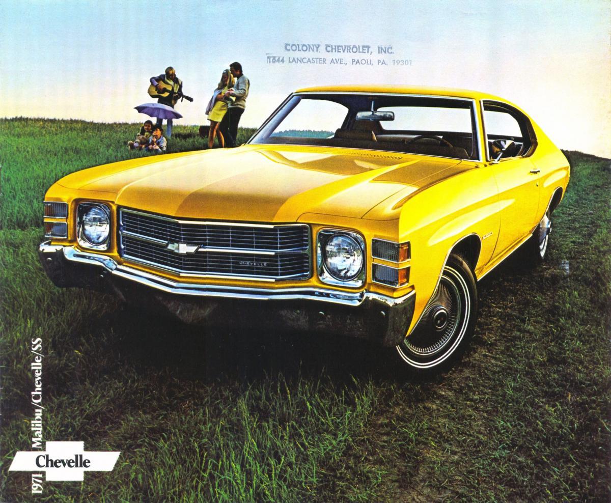 1971 Chevrolet Chevelle 01r