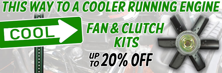 Clutch and Fan Kits On Sale!