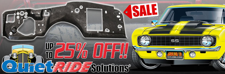 QuietRide Acoustishield Sale!