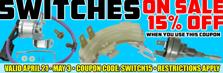 15% Off Switches!
