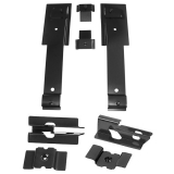 1966-1972 Chevrolet Bucket Seat Conversion Bracket Kit w/ Rear Seat Retainers