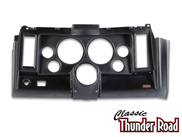 Classic Thunder Road 1969 Camaro 6 Hole Dash Panel 5 Inch Black: 101690021