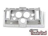 Classic Thunder Road 1969 Camaro 6 Hole Dash Panel 5 Inch Brushed Aluminum: 101690022