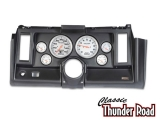 Classic Thunder Road 1969 Camaro Complete Panel 5 Inch, Ultra-Lite Electric, Black