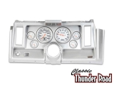 Classic Thunder Road 1969 Camaro Complete Panel 5 Inch, Ultra-Lite Electric, Brushed Aluminum