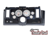 Classic Thunder Road 1969 Camaro Complete Panel 5 Inch, Ultra-Lite Electric, Carbon Fiber