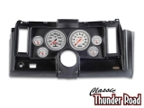 Classic Thunder Road 1969 Camaro Complete Panel 5 Inch, Ultra-Lite Mechanical, Black