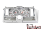 Classic Thunder Road 1969 Camaro Complete Panel 5 Inch, Ultra-Lite Mechanical, Brushed Aluminum