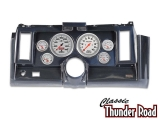 Classic Thunder Road 1969 Camaro Complete Panel 5 Inch, Ultra-Lite Mechanical, Carbon Fiber