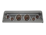 1966-1967 Nova Thunder Road Concourse Series, High Velocity 60's Muscle Gauges, Brush. Alum. Dash