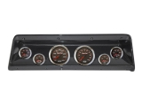 1966-1967 Nova Thunder Road Concourse Series, High Velocity 60's Muscle Gauges, Carb. Fib. Dash