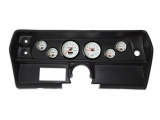 1968 Nova 6 Gauge Thunder Road Panels with Concourse Series Gauges