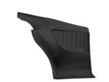1968-1969 Chevrolet Coupe TMI Sport 2 Rear Molded Door Panels, Black: 11-80094-2295