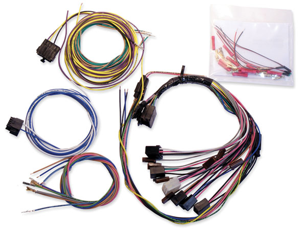 1969 Camaro Clic Dash Wiring Harness on