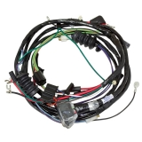 1967 Camaro Forward Lamp Harness For V8 Standard