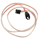 1968-1972 El Camino Console Extension Harness, 4 Speed Manual Transmission