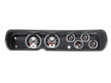 1964 Chevelle 6 Gauge Panel Carbon Fiber With 5 Inch Auto Meter American Muscle Gauges: 103640823