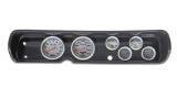 1964 Chevelle 6 Gauge Panel Carbon Fiber w/ 5 Inch Auto Meter Ultra-Lite Mech. Gauges: 103641323