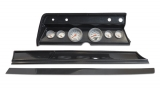 1967 El Camino 6 Gauge Panel Carbon Fiber With Auto Meter Ultra-Lite Gauges