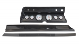 1967 El Camino 6 Gauge Panel Carbon Fiber With Auto Meter Phantom Gauges
