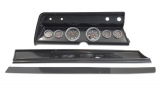 1967 El Camino 6 Gauge Panel Carbon Fiber With Auto Meter Sport-Comp Mechanical Gauges