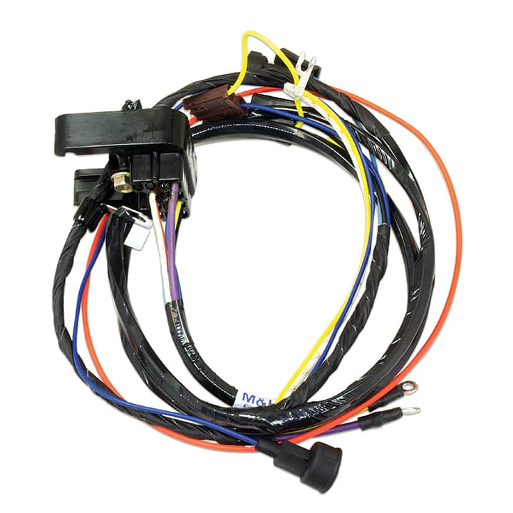 1968-1969 Chevelle Engine Harness, SS396 with Warning Lights
