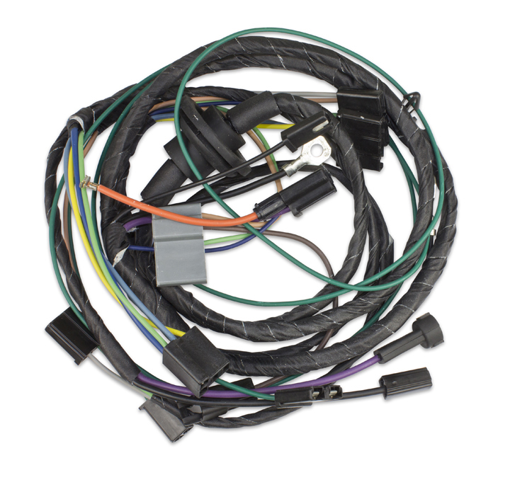 1966 1967 nova air conditioning harness all applications rh ss396 com Wire Harness Assembly Wire Harness Layout