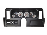 1977-1979 Nova Thunder Road Concourse Series, Silver Face Gauges, Black Dash