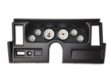 1977-1979 Nova Thunder Road Concourse Series, White Face Gauges, Black Dash