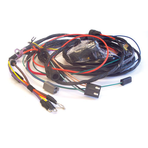 this is a 1970 chevrolet nova engine harness which is specially modified  for cars using hei distributors  all of our harnesses are assembled in the  usa