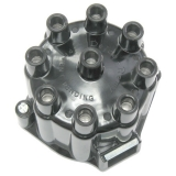 1964-1974 Black Distributor Cap With Correct Logo