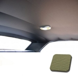 1968 Camaro TMI Headliner and Sun Visor Kit, Bedford Grain, Ivy Gold