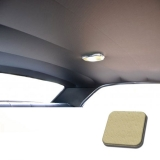 1971-1972 Chevelle TMI Headliner and Sun Visor Kit, Sandalwood Perforated Grain