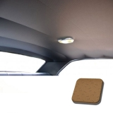 1971-1972 Chevelle TMI Headliner and Sun Visor Kit, Buckskin Perforated Grain