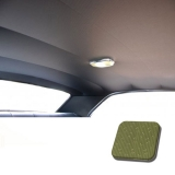1971-1972 Chevelle TMI Headliner and Sun Visor Kit, Sage Green Perforated Grain