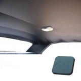 1967 Chevelle TMI Headliner and Sun Visor Kit, Light Blue Impala/Surrey Grain: 20-8257KIT-927