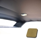 1967 Chevelle TMI Headliner and Sun Visor Kit, Gold Impala/Surrey Grain: 20-8257KIT-929