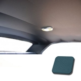 1967 Chevelle TMI Headliner and Sun Visor Kit, Medium Blue Impala/Surrey Grain: 20-8257KIT-930