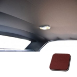 1967 Chevelle TMI Headliner and Sun Visor Kit, Red Impala/Surrey Grain: 20-8257KIT-935