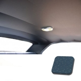 1969 Chevelle TMI Headliner and Sun Visor Kit, Medium Blue Perforated Grain