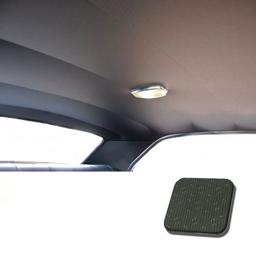 1969 Chevrolet Tmi Headliner And Sun Visor Kit Dark Green