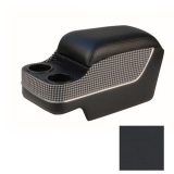 1968-1969 Camaro TMI Deluxe Center Console, Black with Black & White Houndstooth