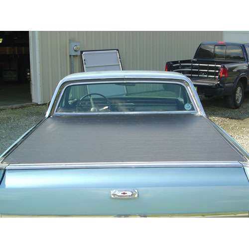 1964 1967 Chevrolet Craftec Tonneau Cover Black Soft Vinyl