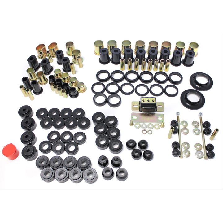 1968-1972 Chevelle Energy Suspension Poly Graphite Hyperflex Suspension Kit, Black: 3-18113G